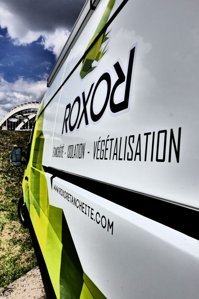 signalétique véhicule ROXOR étanchéité - Langeac - Haute-Loire